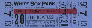 beatles ticket 08201965