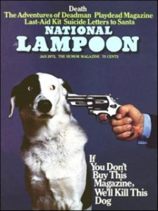 michael gross lampoon cover