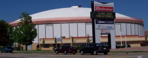 Brown County Veterans Memorial Arena in Green Bay, WIsconsin