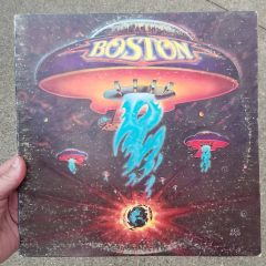 "My ""Boston"" record from 1976."