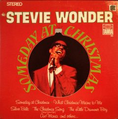 """Someday at Christmas"" LP by Stevie Wonder, 1967."