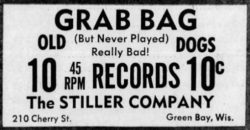 Stiller Co. record ad, July 14, 1970