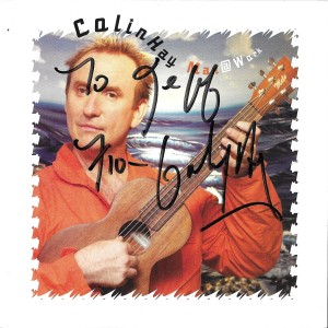 Colin Hay Man @ Work autographed CD