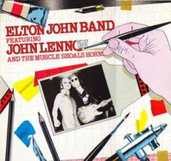 Elton John Band Featuring John Lennon and the Muscle Shoals Horns LP